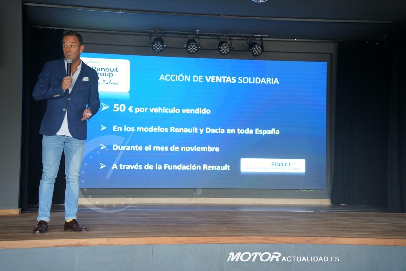 Renault con La Palma
