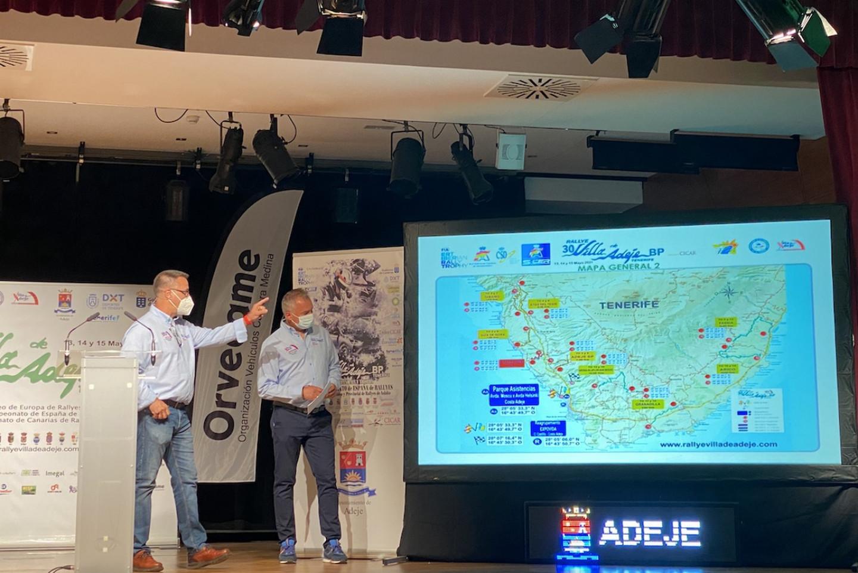 Rally Villa Adeje, presentación