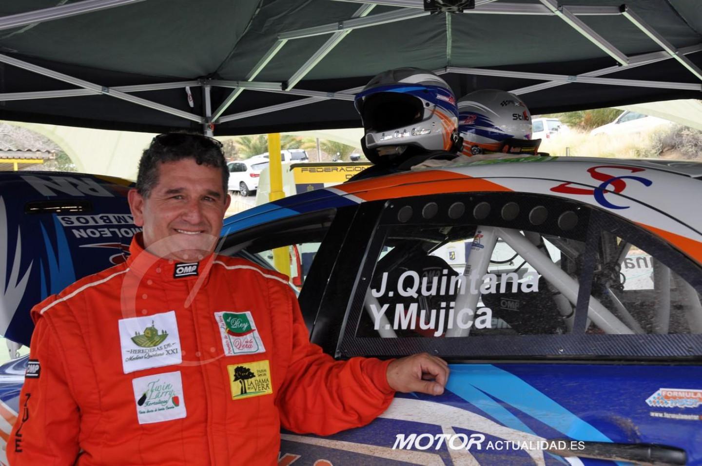 Juan Carlos Quintana, con el EVO-X, mejor piloto de Canarias 2019