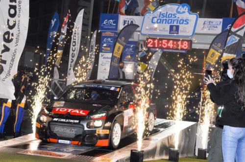 44 Rally Islas Canarias Ceremonia Salida