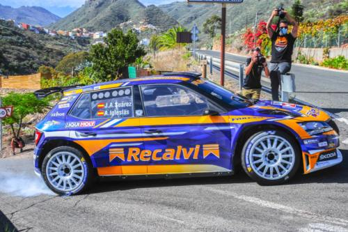 44 Rally Islas Canarias tests Valsequillo
