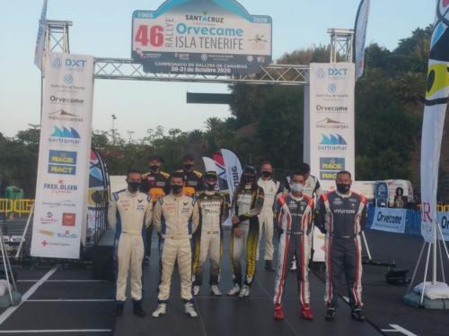 46 Rally Isla Tenerife-Ceremonia salida