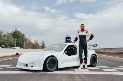 Borja Falcón Speed Car